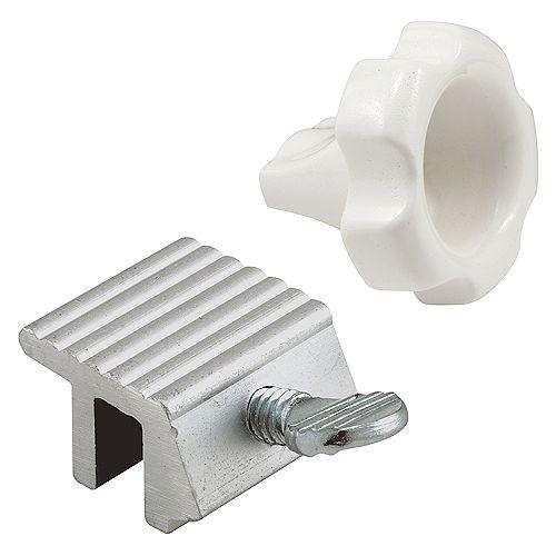 Prime-Line Locking Wrench And Window Lock Kit, Zinc Plated Finish