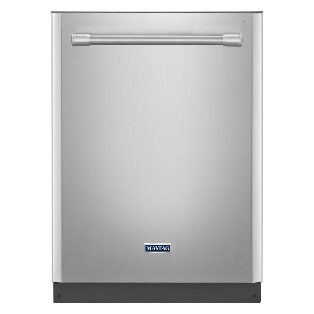 24-inch Durable Dishwasher with Chopper Disposer and Fully Integrated Display in Stainless Steel
