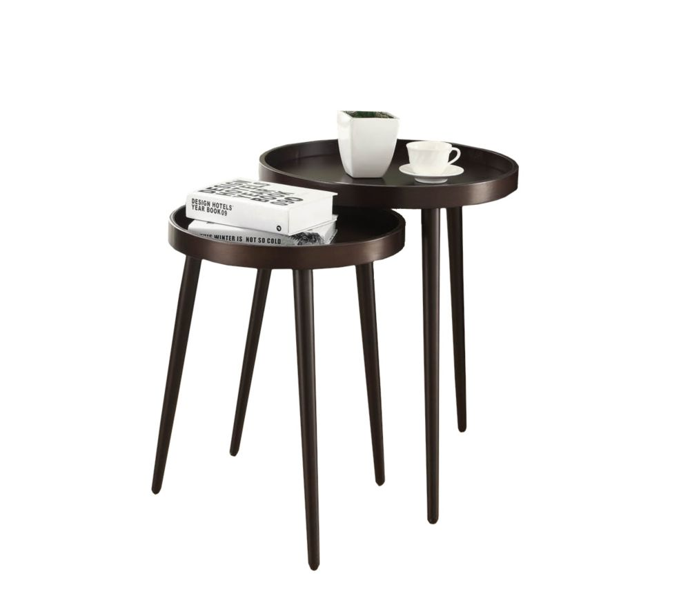 Nesting Table - 2Pcs Set / Cappuccino