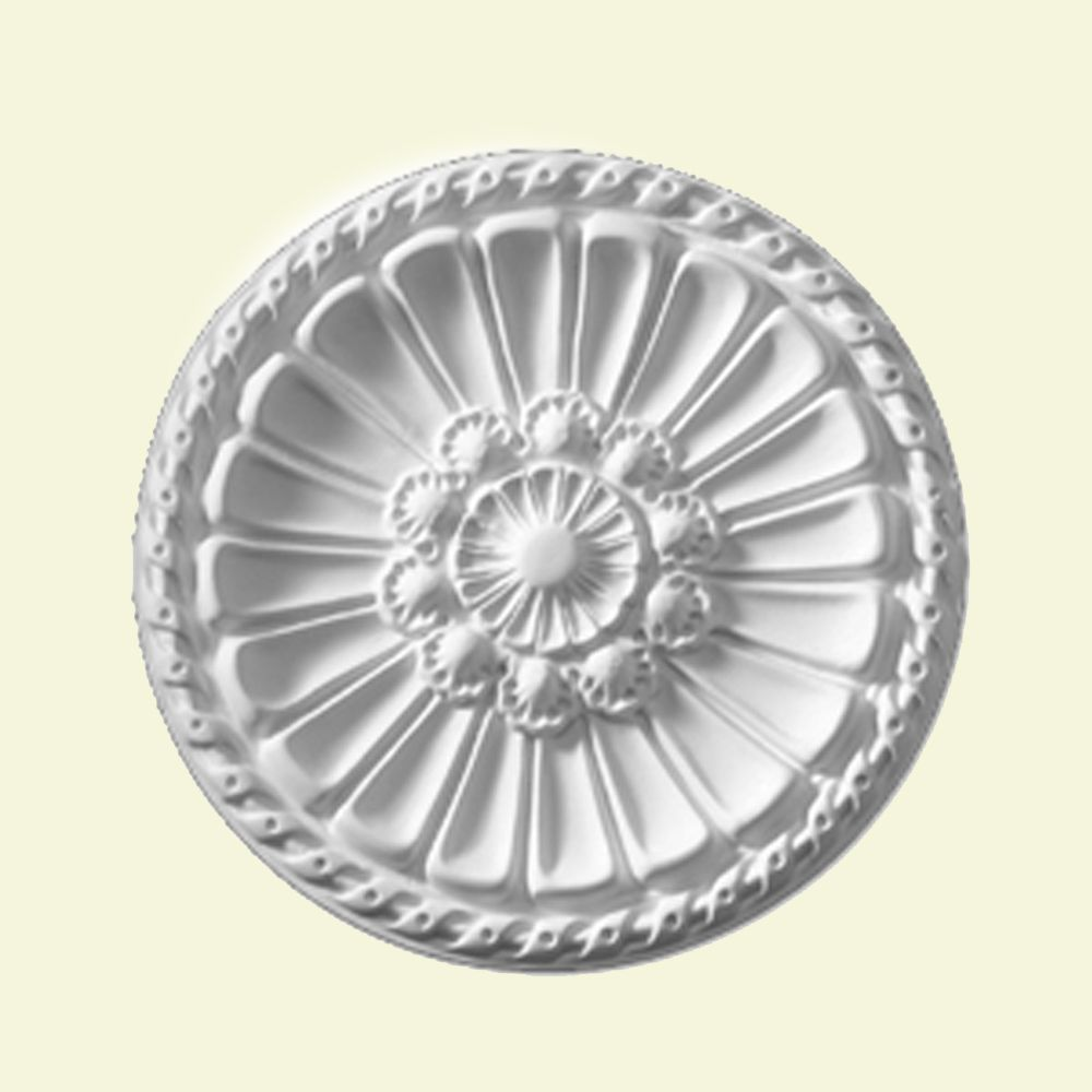 Belmont 14 Inch Smooth Surface Ceiling Medallion (1-Piece)