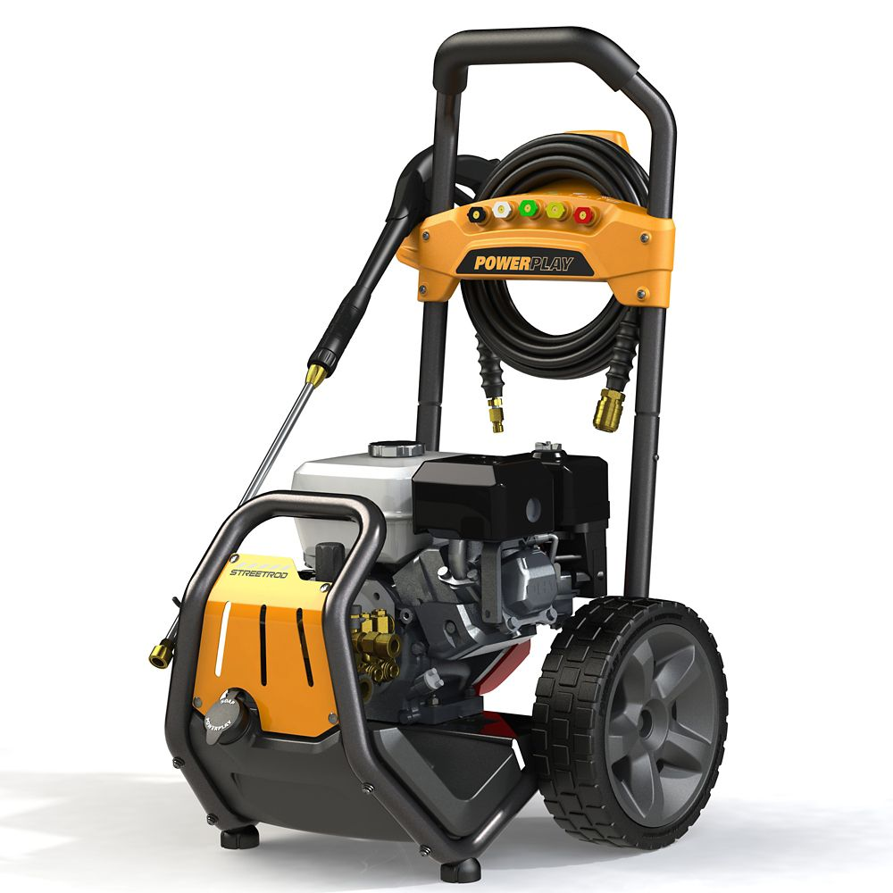 Streetrod 3300 PSI 2.7 GPM Professional Gas Pressure Washer with Honda GX200 Engine and AR Triplex Pump