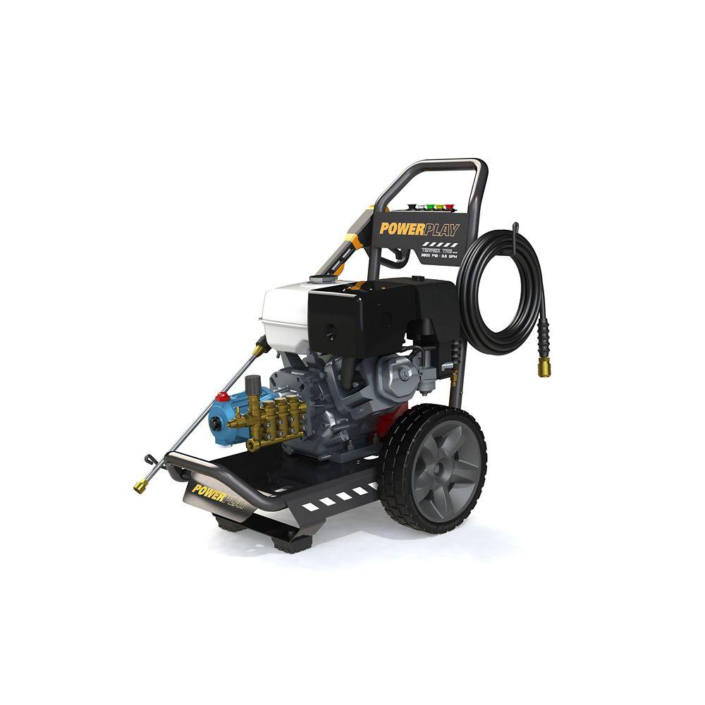 Terrex 4200 psi 4,1 GPM Moteur Honda GX390 Pompe Annovi Reverberi Nettoyeur à pression à essence