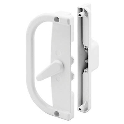 Prime Line Patio Door Handle Set 6 916 Inch Diecast White Dual