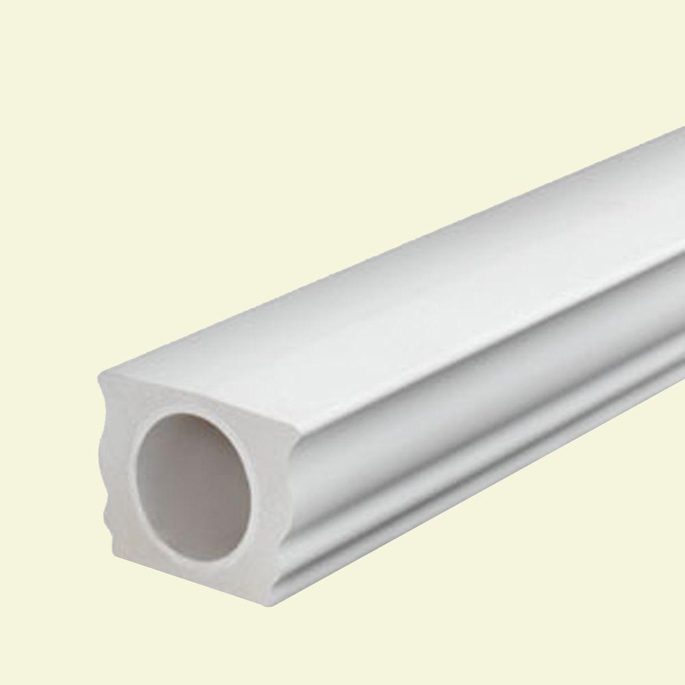 7 Inch x 5-1/4 Inch x 96 Inch Polyurethane Straight Top Handrail for 7 Inch Balustrade System