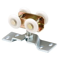 Prime-Line Pocket Door Roller & Bracket, Four 1 inch. Nylon Wheels