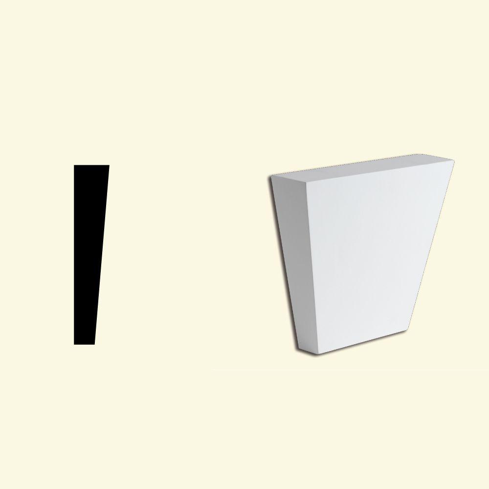 Clé de voûte unie en polyuréthane 99-3/4 po x 7-3/4 po x 2-1/4 po