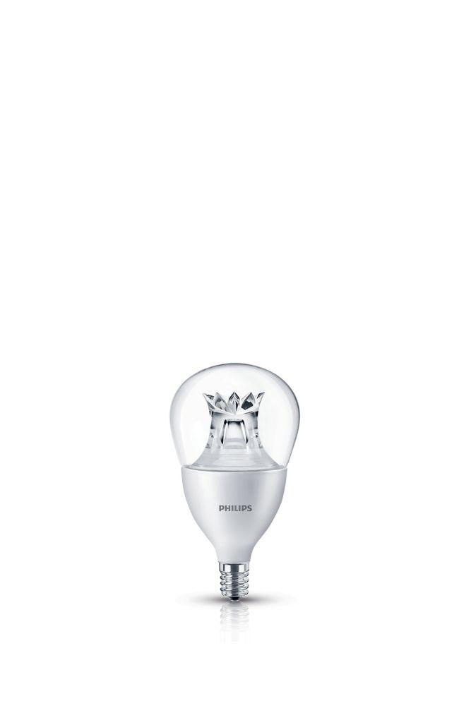 LED 40W Fan A15 Candelabra Base Soft White Warm Glow (2700K- 2200K)