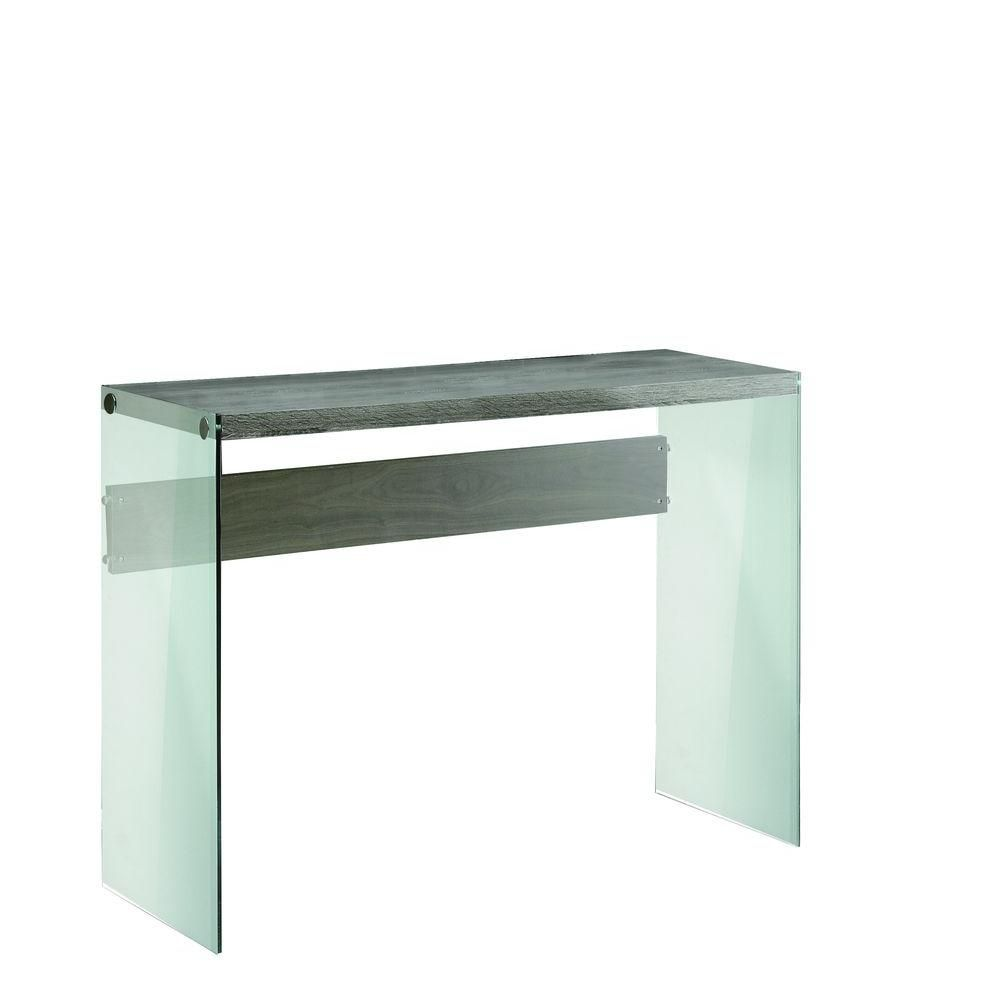 Monarch Specialties Console Table Dark Taupe With