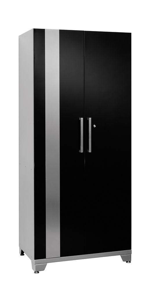 Performance 75 Inch H x 30 Inch W x 18 Inch D Locker Cabinet in Black