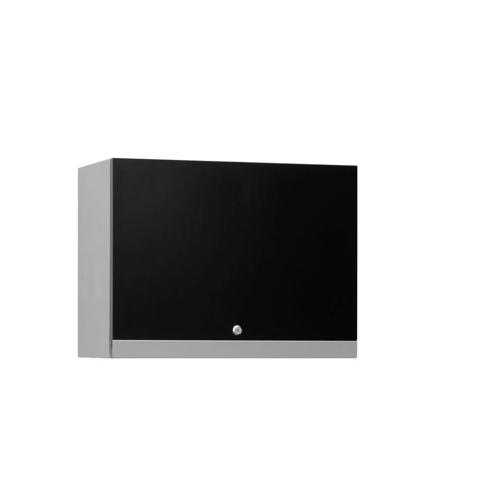Performance 18 Inch H x 24 Inch w x 12 Inch D Wall Cabinet in Black