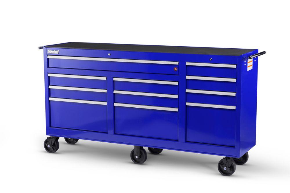 73 Inch. 11 Drawer Cabinet, Blue WRB-7311BU Canada Discount
