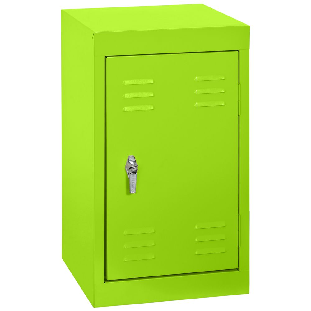 15 Inch L x 15 Inch D x 24 Inch H Single Tier Welded Steel Locker in Electric Green LF11151524-38 Canada Discount