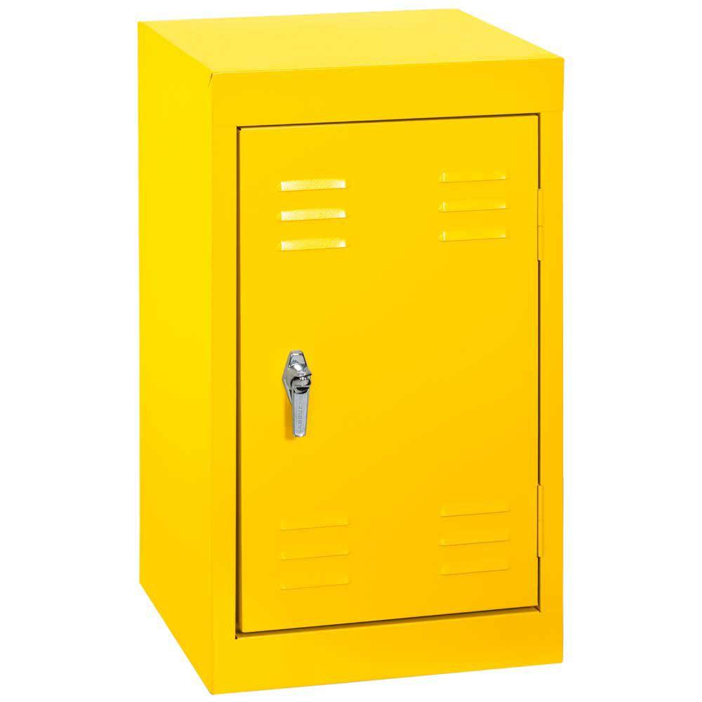 15 Inch L x 15 Inch D x 24 Inch H Single Tier Welded Steel Locker in Sunshine