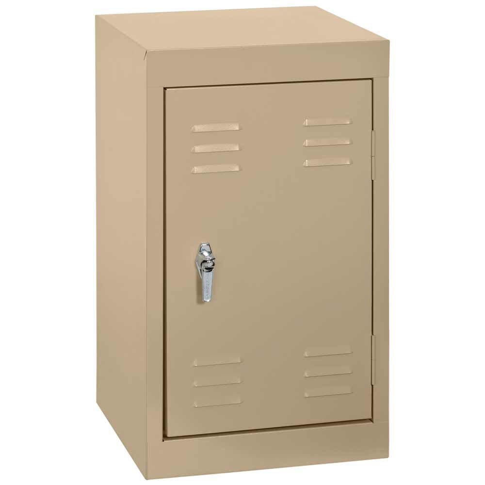15 po L x 15 x 24 po in.D H Single Tier soudés en acier Locker Tropic sable