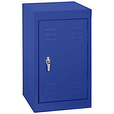 15 Inch L x 15 Inch D x 24 Inch H Single Tier Welded Steel Locker in Ocean