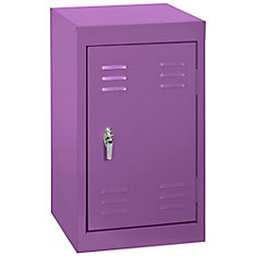 15 Inch L x 15 Inch D x 24 Inch H Single Tier Welded Steel Locker in Grape Juice