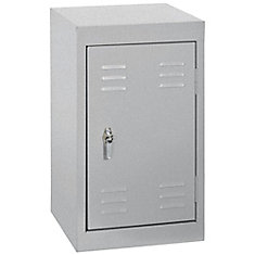 15 Inch L x 15 Inch D x 24 Inch H Single Tier Welded Steel Locker in Multi Granite