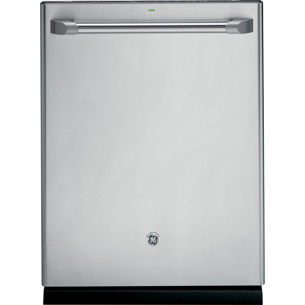 24-inch Built-In Tall Tub Dishwasher with Hidden Controls in Stainless Steel