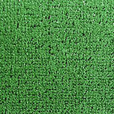 Turf Green 8 ft. x 10 ft. Indoor/Outdoor Contemporary Rectangular Area Rug
