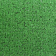 Carpette d'intérieur/extérieur, 9 pi x 10 pi, style contemporain, rectangulaire, vert Turf