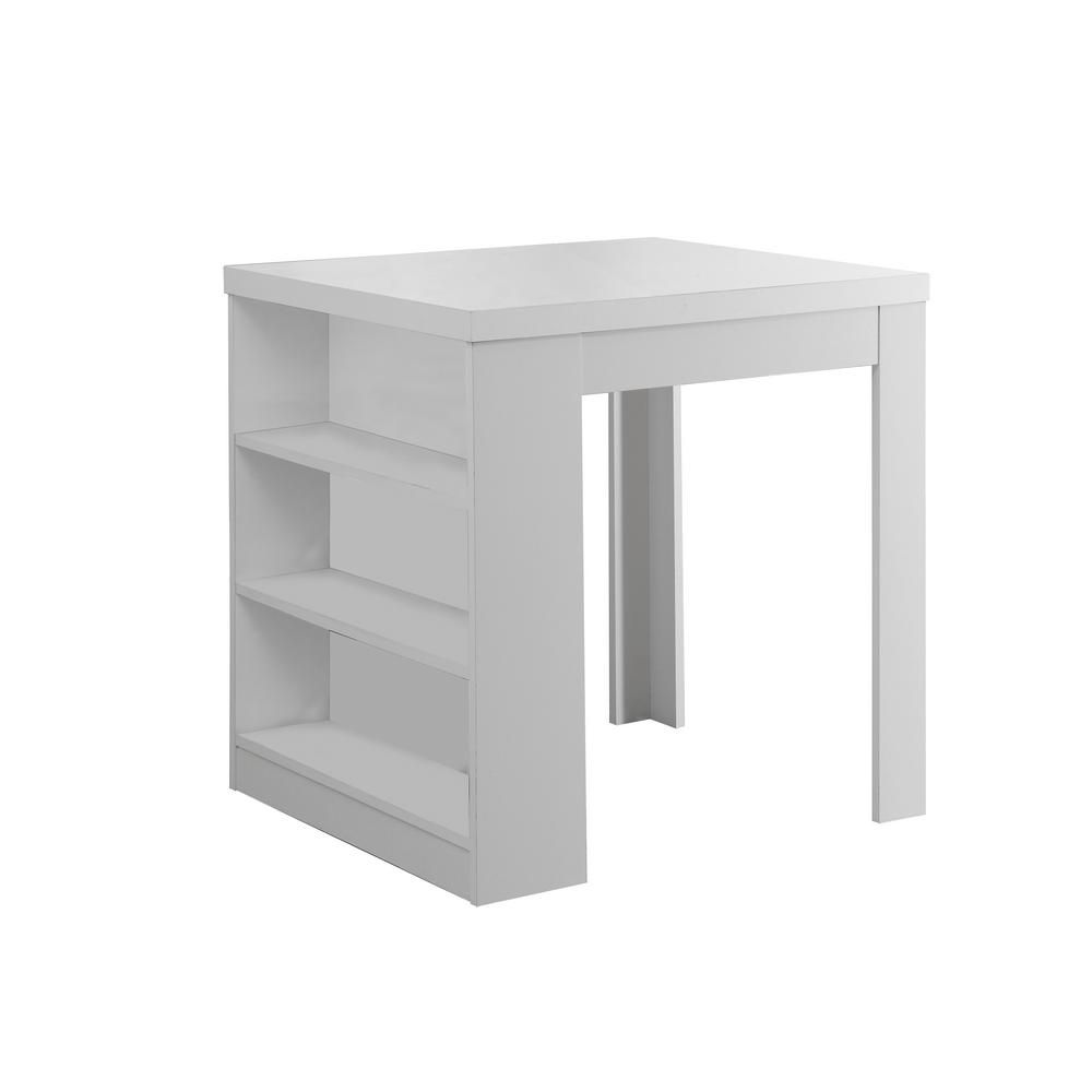 monarch specialties table a manger 32 x 36 blanc. Black Bedroom Furniture Sets. Home Design Ideas