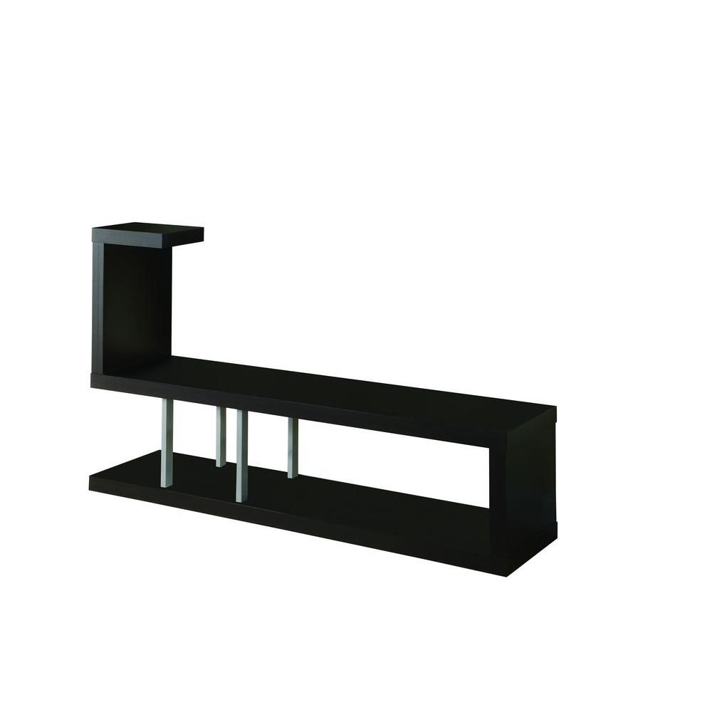 60-inch x 36-inch x 16-inch TV Stand in Black