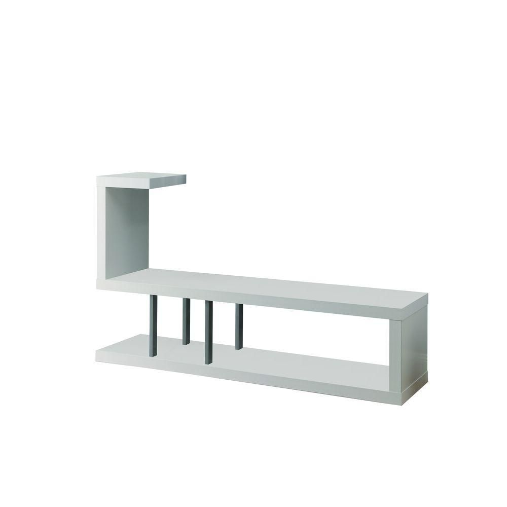 60-inch x 36-inch x 16-inch TV Stand in White