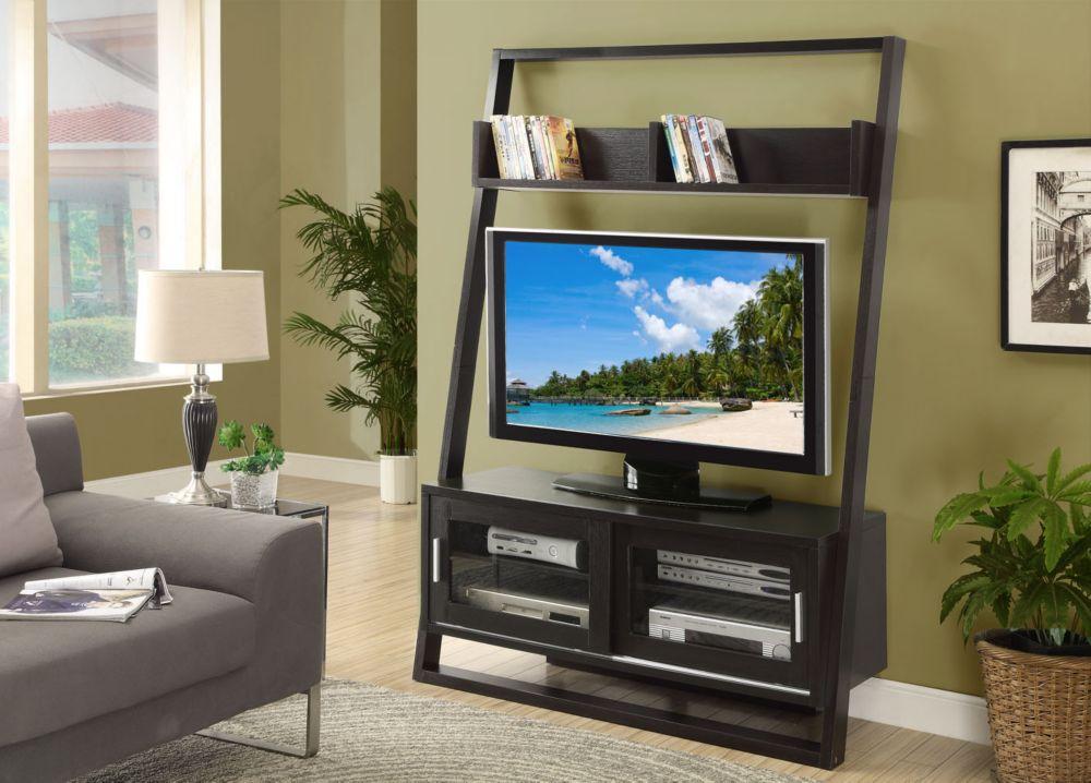 Monarch specialties meuble tv 48 l cappuccino 2 for Meuble tv canada