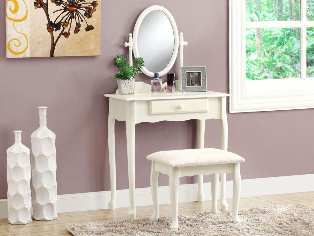 Vanity Set - 2Pcs Set / Antique White