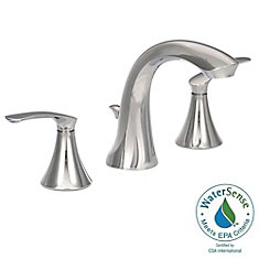 Darcy 8-Inch Widespread 2-Handle High-Arc Bathroom Faucet in Chrome