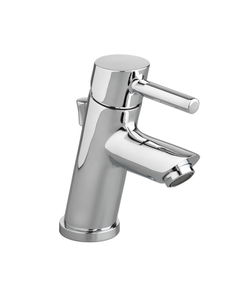Cortile Monoblock Bathroom Faucet in Chrome Finish