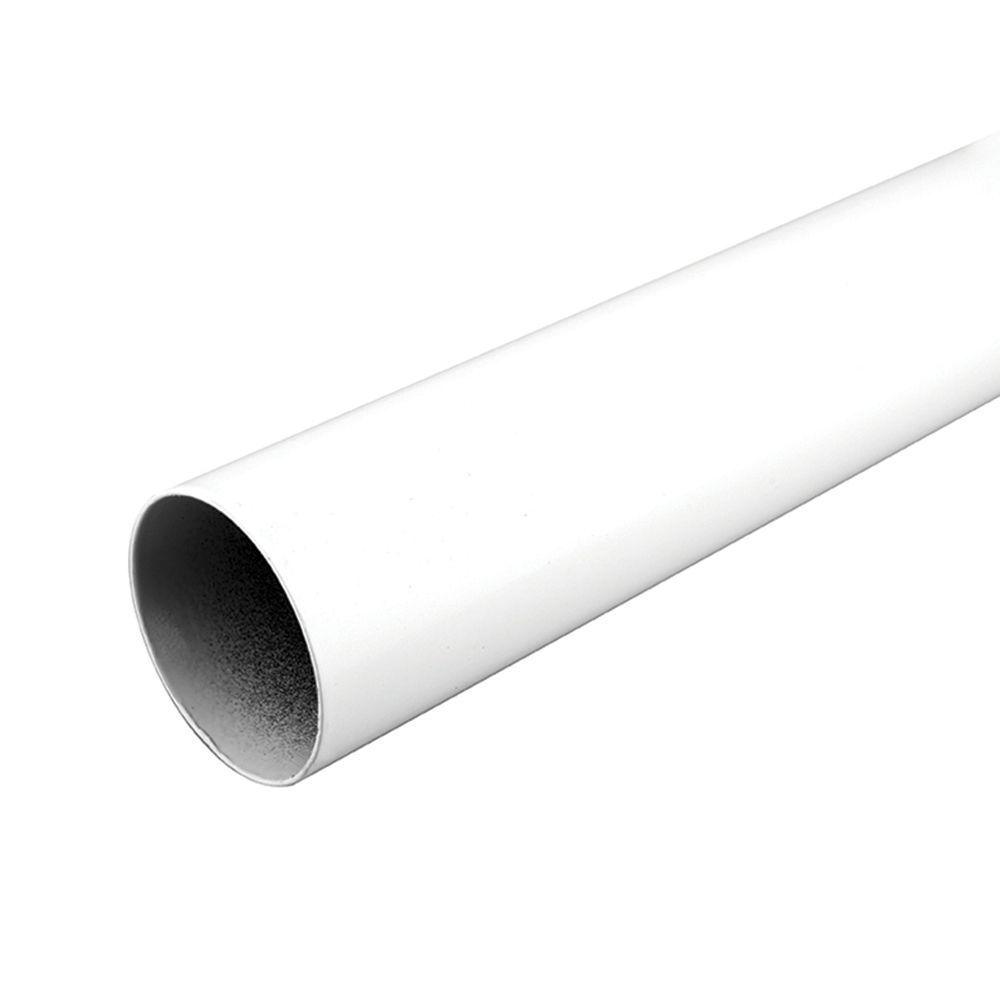 everbilt 96 inch closet rod in white the home depot canada. Black Bedroom Furniture Sets. Home Design Ideas