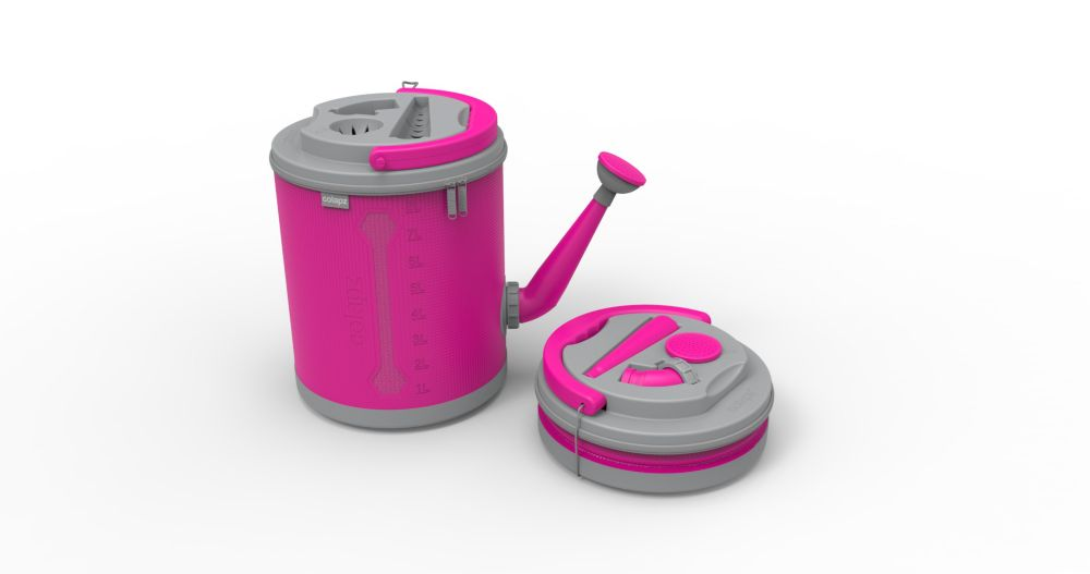Colourwave Colpaz -Collapsible Watering can Candy pink