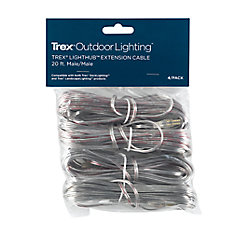 20 Foot Wire Extension Cable (4 Pack)