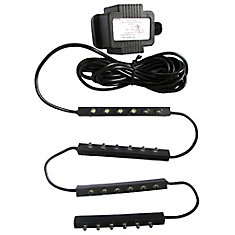 6-Light LED Light Bars for Ponds, Fountains and Water Features (4-Pack)