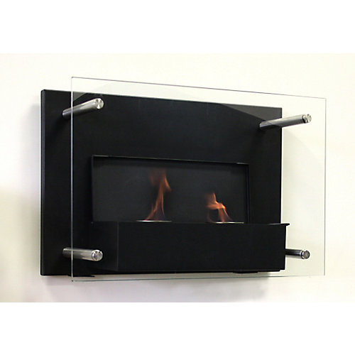 Indoor Gel Fuel Wall-Mounted Fireplace with Build in Snuffer