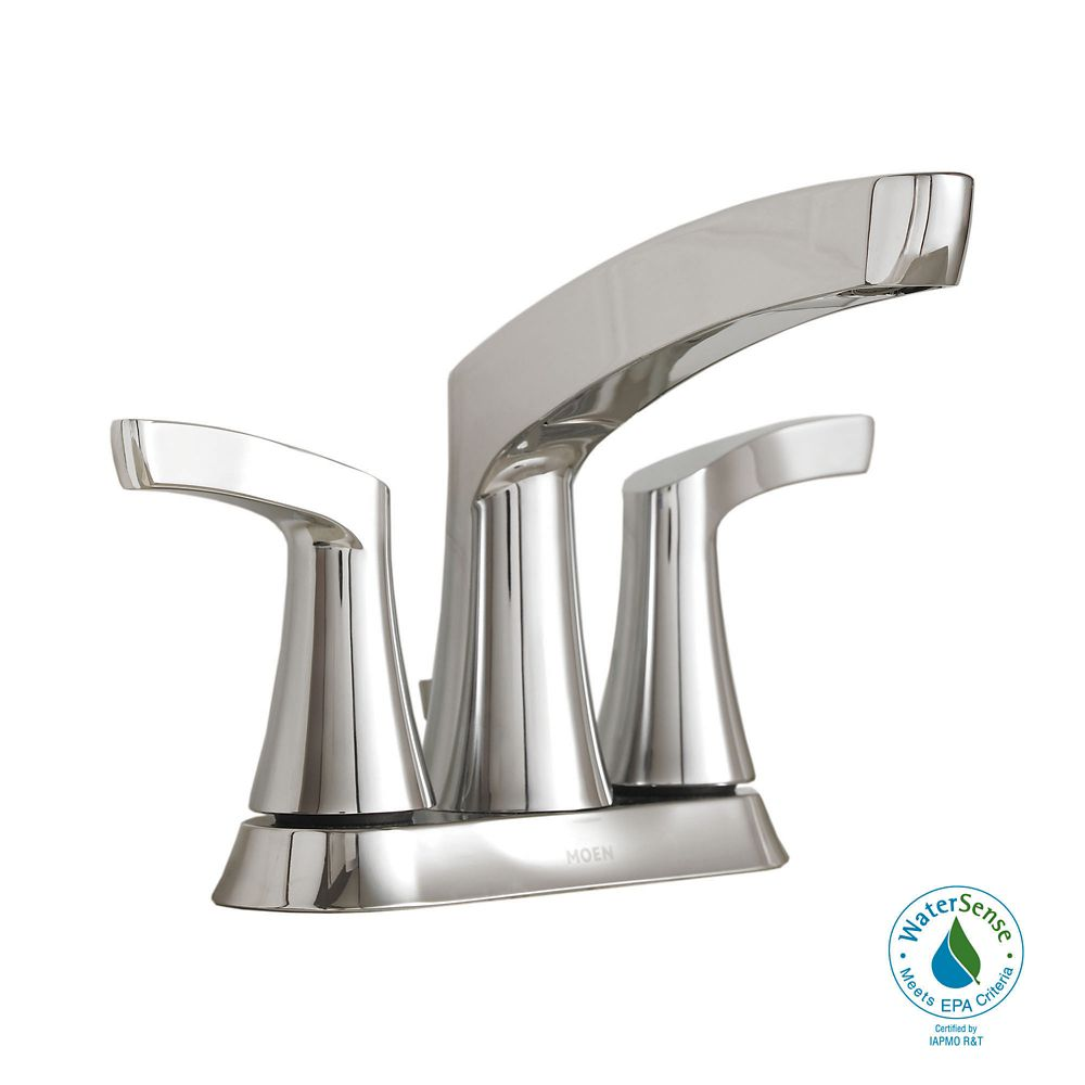 Danika 2 Handle Lavatory Faucet Chrome Finish 84633
