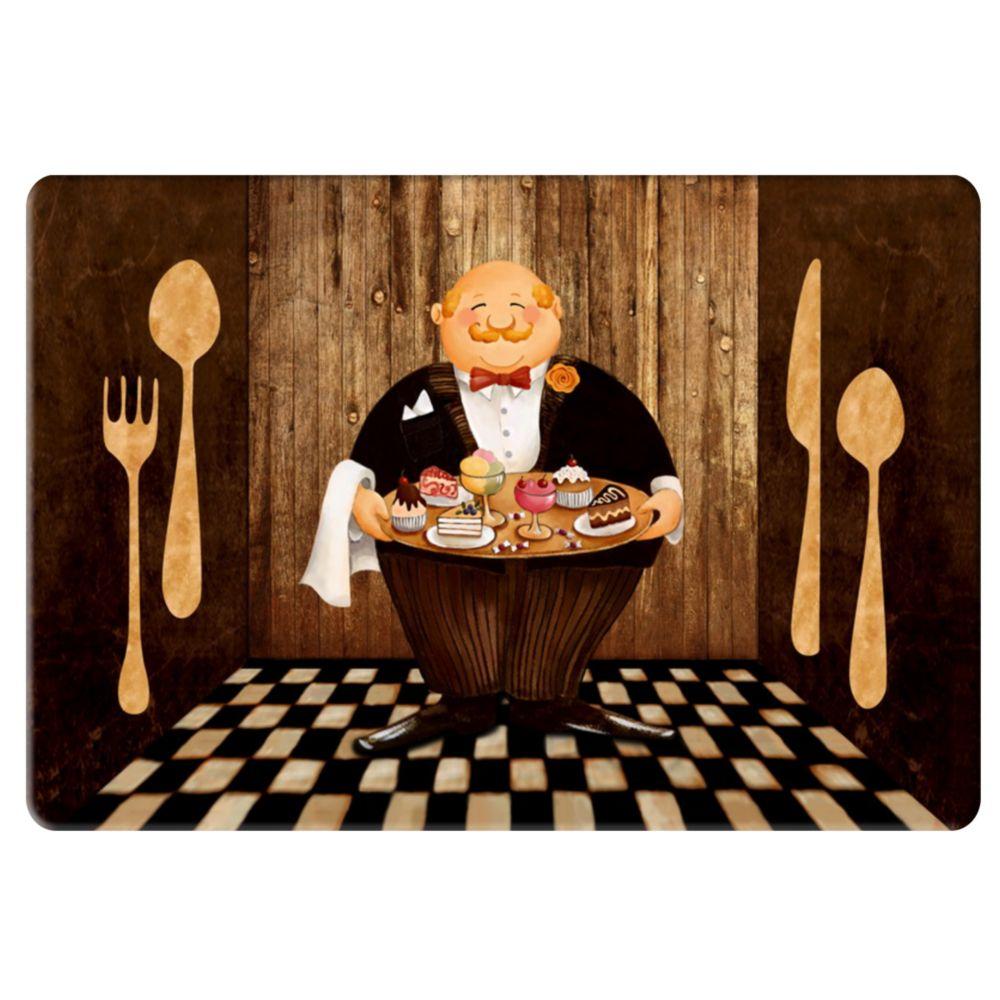 Home Decor Tapis de Cuisine Anti-fatigue Chefs et Ustensiles - 18 ...