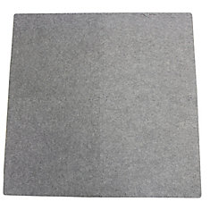 Connect-A-Rug Grey Anti-fatigue Interlocking Mat - 24 Inches x 24 Inches (4 Pack)