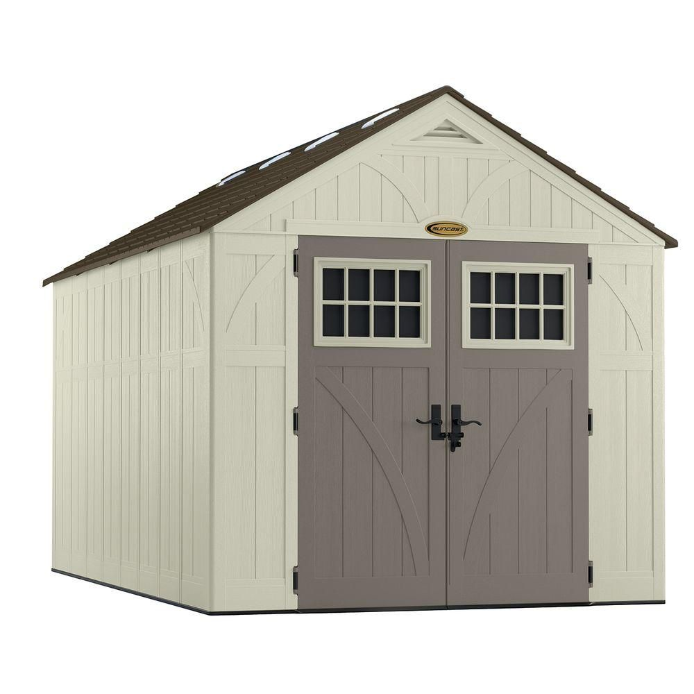 8 Feet X 13 Feet Tremont Storage Shed