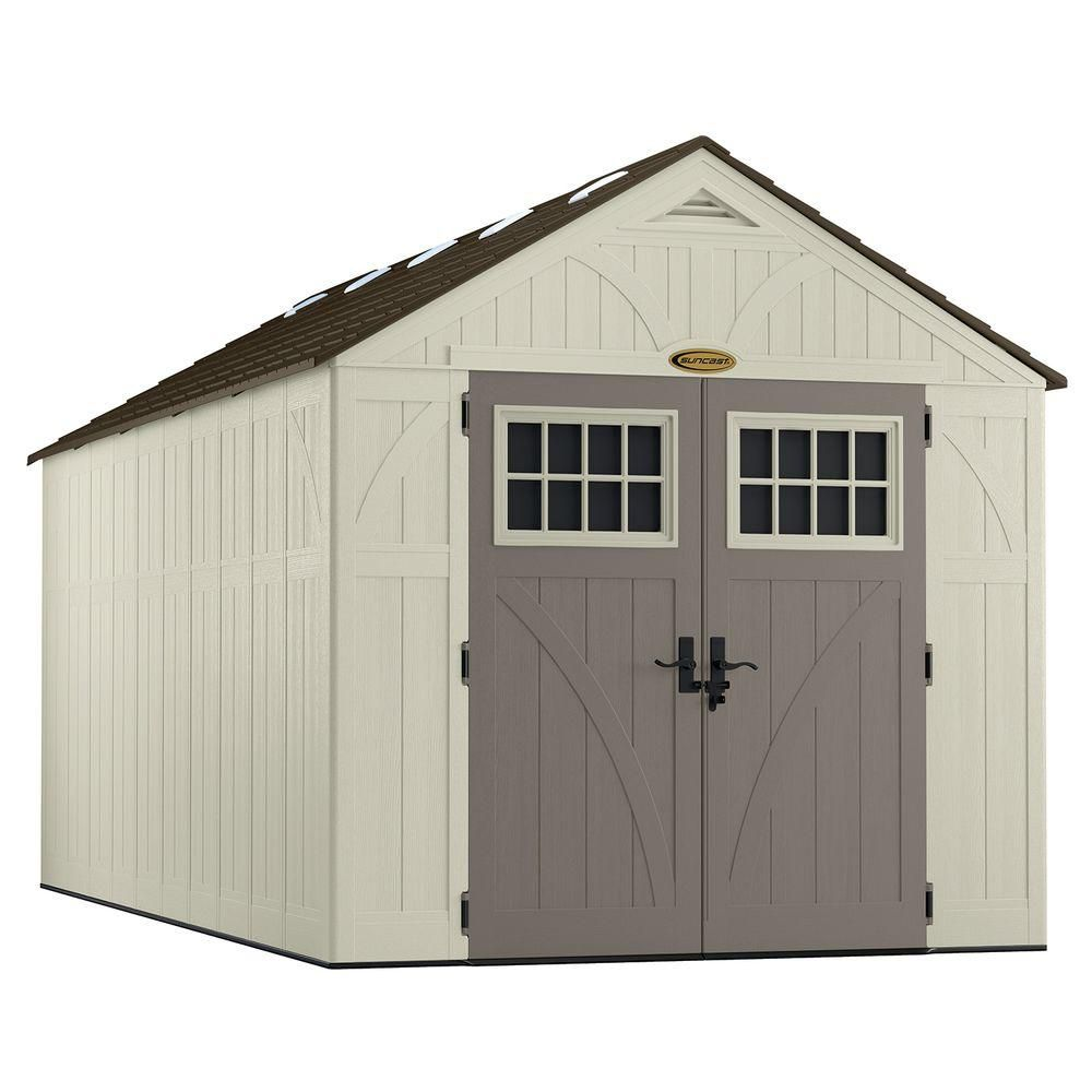 Suncast 8 Feet X 16 Feet Tremont Storage Shed | The Home Depot Canada