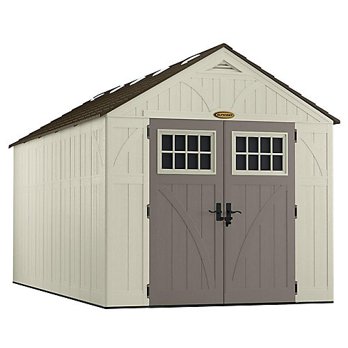 8 ft. x 16 ft. Tremont Storage Shed