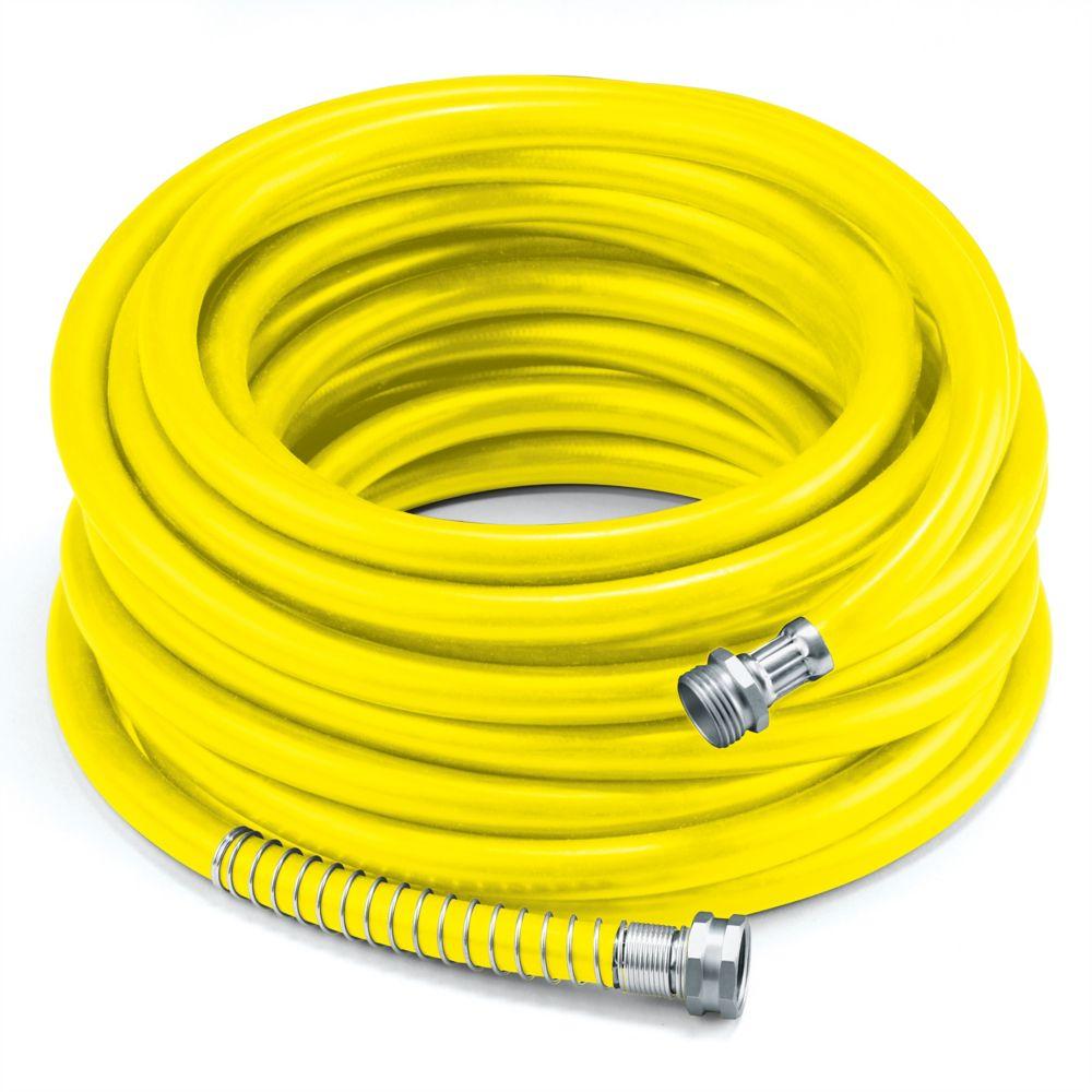 "Colourwave 5/8"" x 100' Premium Rubber Garden Hose - Yellow"