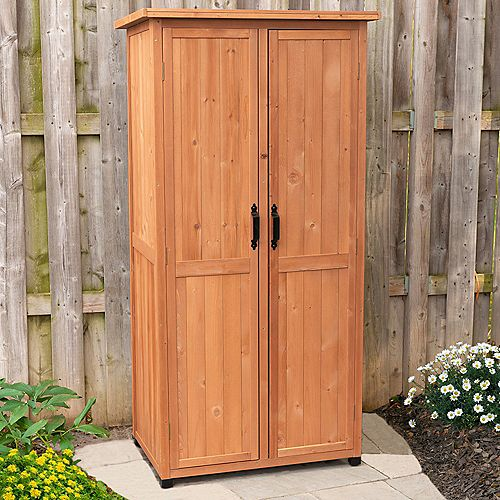 Leisure Season Vertical Storage Shed