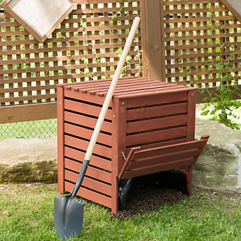 Home Depot Compost Bin Interesting Leisure Season Compost Bin The Home Depot Canada