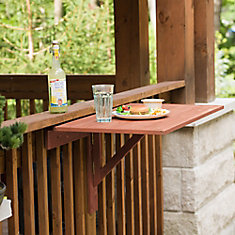 Wall Mounted Drop Leaf Patio Table