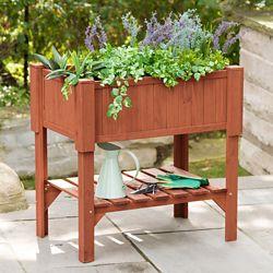 Leisure Season Raised Planter Box