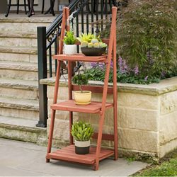 Leisure Season 3-Tier A-frame Plant Stand