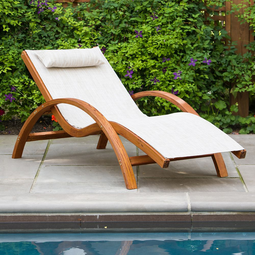Superb Sling Lounge Chair Creativecarmelina Interior Chair Design Creativecarmelinacom
