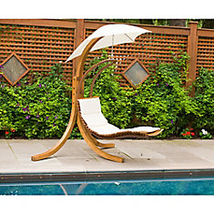Patio Swing Lounge with Umbrella & Patio Swings | The Home Depot Canada